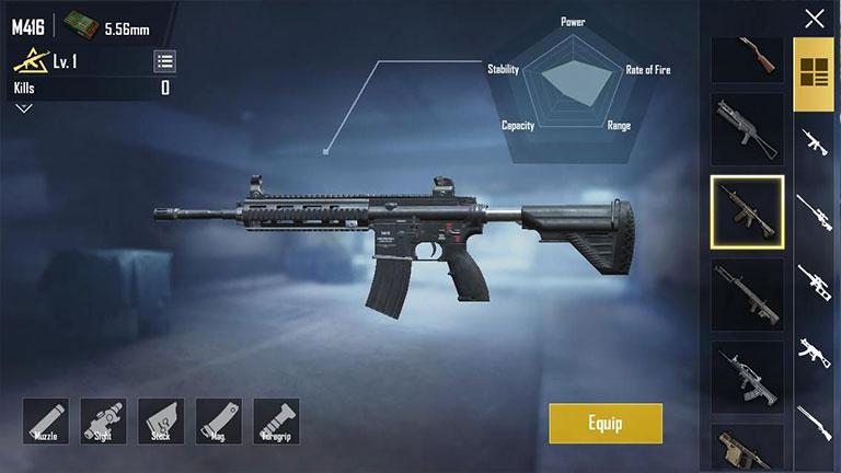 Gunakan Combo Senjata Terbaik Cara Push Rank Di Pubg Mobile