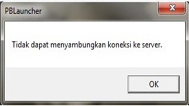 sedang maintanance Point Blank Tidak Dapat Menyambungkan Koneksi Ke Server
