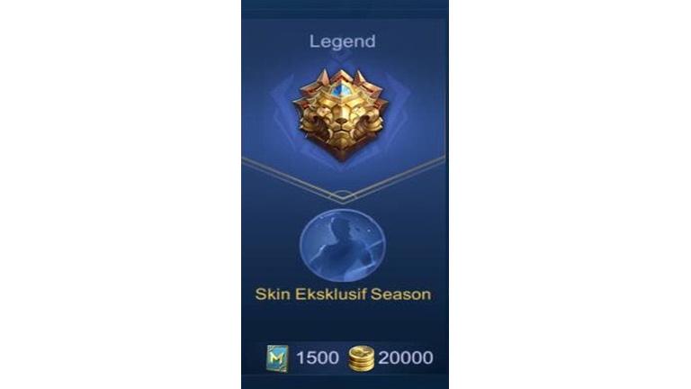 Legend Apa Itu Rank Mobile Legends