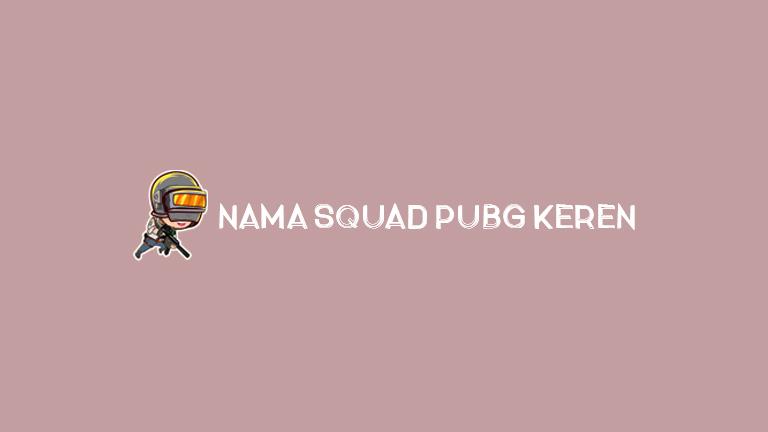 Master Pubg.jpg Nama Squad Pubg Keren
