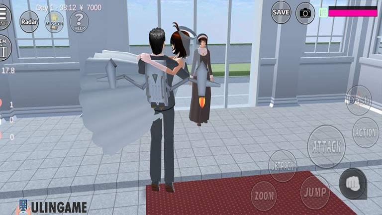 Minta Restu Cara Menikah di Sakura School Simulator
