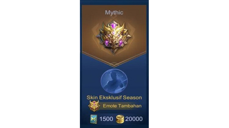 Mythic Apa Itu Rank Mobile Legends
