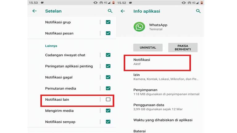 Nonaktifkan Aplikasi Tidak Digunakan