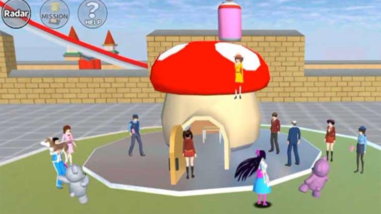 Pindah Tempat Cara Menyelesaikan Misi Di Sakura School Simulator