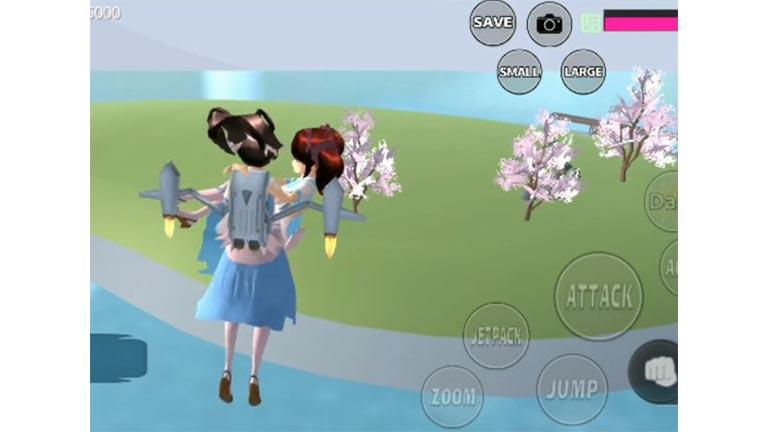 Pulau Kecil Di Tengah Lautan Tempat Misterius Di Sakura School Simulator