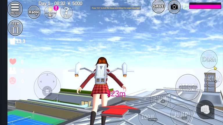 sakura School simulator 7