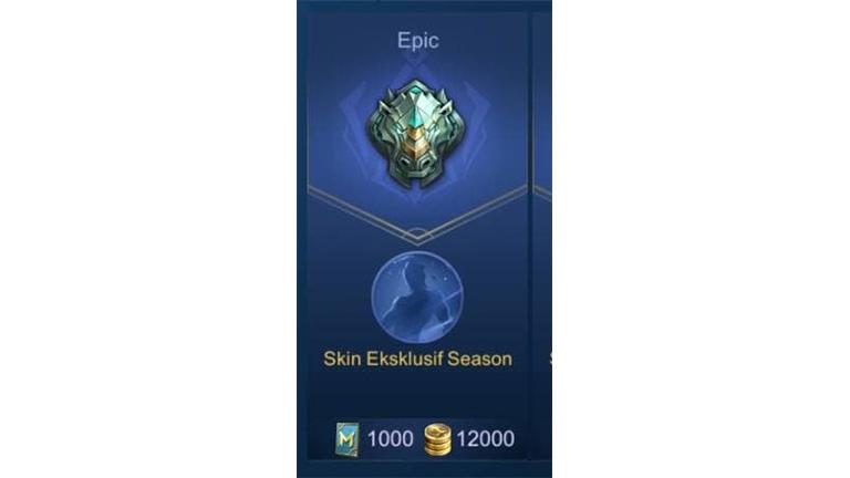 Tier Epic Apa Itu Rank Mobile Legends