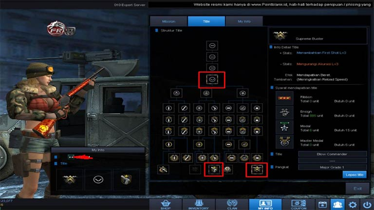 Title Sg Point Blank Putar