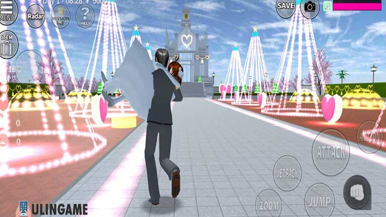 Wedding Chapel Cara Menikah di Sakura School Simulator